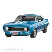 07694 Revell 1/25 Fast & Furious Car 1969 Chevy Camaro Yenko