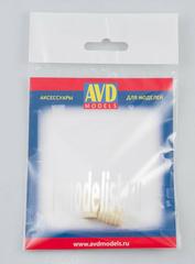 AVD143009102 AVD Models 1/43 Бочка деревянная 100л, 2 шт.