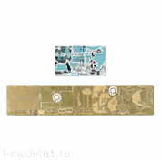 072026 Microdesign 1/72 Photo Etching kit color Dashboards for Su-24 (Zvezda)