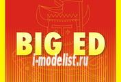 BIG3367 Eduard 1/32 Полный набор фототравления для MIRAGE IIIc - II. Часть