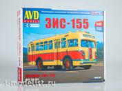 4025AVD AVD Models 1/43 Bus ZIS-155