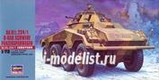 31153 Hasegawa 1/72 Танк Sd.Kfz234/2 8-RAD Schwere Panzerspahwagen