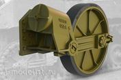 35011 Fury Models 1/35 Набор дополнений ленивец с шиной, для легкого танка США M5A1 (ПОЗДНИЙ) / M8 HMC (ПОЗДНИЙ)