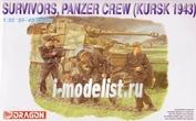 6129 Dragon 1/35 Survivors, Panzer Crew (Kursk 1943)