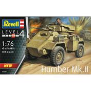 03289 Revell 1/76 Британский средний бронеавтомобиль Humber Mk.II