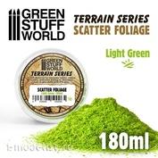 10506 Green Stuff World Рассеянная листва - Светло-зелёная, 180 мл / Scatter Foliage - Light Green - 180 ml