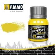 AMIG0624 Ammo Mig Краска акриловая DRYBRUSH выцветшая жёлтая