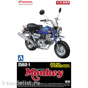 05869 Aoshima 1/12 Honda Monkey Custom Takegawa Ver.1