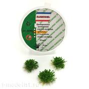 3090 DasModel 1/35 Придорожный кустарник, зеленый, 8 мм, 30 шт.