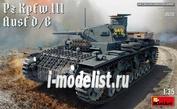 35213 MiniArt 1/35 Средний Танк Pz.Kpfw.III Ausf. D/B