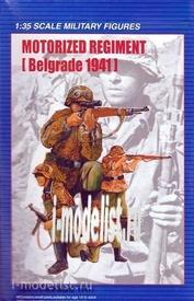 00403 Trumpeter 1/35 German Motorized Regiment Belgrade 1941