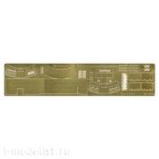 035253 Микродизайн 1/35 Набор фототравления забашенного ящика танка Тигр I