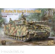 BT-005 Border Model 1/35 Танк Pz.Kpfw.IV Ausf.H (Ранний) + 4 фигуры