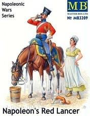 3209 MasterBox 1/32 Красный улан Наполеона, серия Наполеоновских войн
