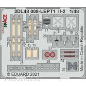 3DL48008 Eduard 1/48 3D Декаль для Ил-2 SPACE