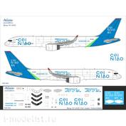 75F-004 Ascensio 1/144 Декаль на самолёт 757-200F, Atu Cargo (CAINIAO)