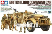 32407 Tamiya 1/35 British LRDG Command Car North Africa with 7 Figures