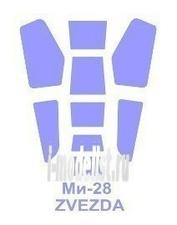 72218 KV Models 1/72 Набор окрасочных масок для остекления модели Мйль-28