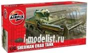 2320 Airfix 1/76 Sherman Crab Tank