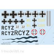 D32002 Eduard 1/32 Декаль для Bf 108 Taifun