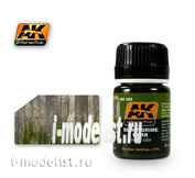 AK026 AK Interactive Blends for applying SLIMY GRIME DARK EFFECTS