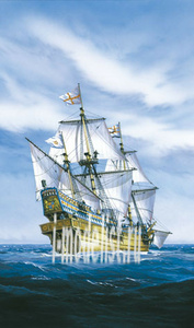 80829 Heller 1/200 Golden Hind