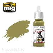 AMMOF546 Ammo Mig Paint Acrylic Brown Ochre / OCHRE BROWN
