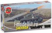2334 Airfix 1/76 Sherman Calliope Tank