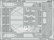 36413 Eduard 1/35 photo etched parts for Panther Ausf. G