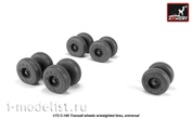 AW72507 Armory 1/72 wheel add-on Kit for C-160 Transall rims with weighted tires