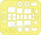 CX050 Eduard 1/72 Маска для T-6G Texan