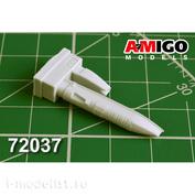 AMG72037 Amigo Models 1/72 MiGG-31B / BM Gun casing GSH-6-23