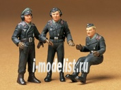35001 1/35 Tamiya German tank crew (3 figures)
