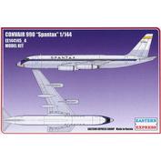 144145-4 Восточный экспресс 1/144 Авиалайнер CV990 SPANTAX