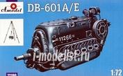 72190 Amodel 1/72 Двигатель Db-601a/e