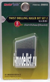 09955 Я-моделист клей жидкий плюс подарок Trumpeter Twist Drilling Auger Bit Set #2