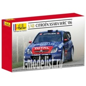 80116 Heller 1/43 Citroen XSARA WRC 06