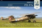 70006 ArmaHobby 1/72 Самолет PZL P.7a Expert Набор с довоенной росписью