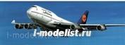 230031 Моделист 1/300 Боинг 747-400