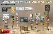 35604 Miniart 1/35 Дорожные знаки WWII (Северная Африка)