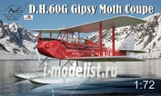 72018 Avis 1/72 DH-60G Gipsy Moth Coupe floatplane