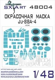 48004 SX-Art 1/48 Окрасочная маска Ju-88A-4 (ICM)