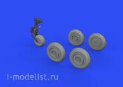 672228 Eduard 1/72 Набор дополнений МuГ-17 колёса