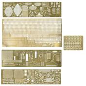 350203 Микродизайн 1/350 Набор фототравления для кораблей класса