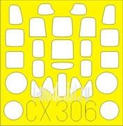 CX306 Eduard 1/72 Маска для A6M2 Zero