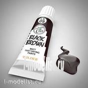 LS-09 Wilder ЧЁРНО-КОРИЧНЕВЫЙ. Краска специальная быстросохнущая, на основе льняного масла. Объем: 20 мл. Для всех видов тонировки.