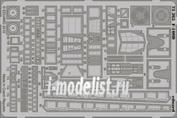 73365 Eduard 1/72 Фототравление для F-100D S.A.