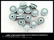 B35009 Miniarm 1/35 is-3M, is-4, ISU-152K, SCUD set of support rollers of late type (16pcs)