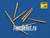 700 L-08 Aber 1/700 Set of 8 pcs 381 mm long barrels for ship Hood