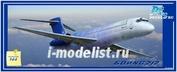 PM14435 PasModels 1/144 Модель для сборки самолета Boing 717 Blue One (смола)